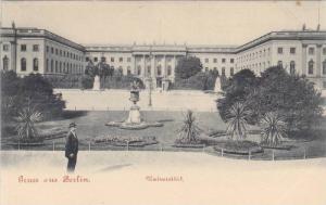 Gruss Aus Berlin , Germany , 1890s ; Universitat