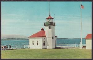 Lighthouse,Alki Point,Seattle,WA Postcard