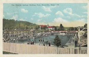KNOXVILLE ,Tennessee, 1921 ; Whittle Springs Bathing Pool