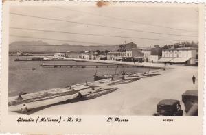 RP: Aleudia (Mallorica) R:92 El Puerto , Spain , 1930s