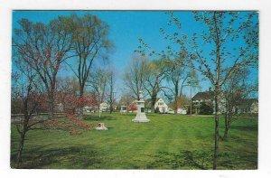 1953 The Lower Green Park, Clinton, Connecticut Chrome Postcard
