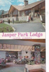 JASPER, Alberta, 1950-1960s;  Jasper Park Lodge