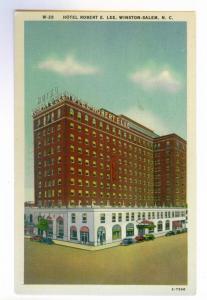 Hotel Robert E. Lee, Winston Salem, North Carolina unused linen PPC