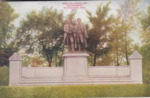 Wisconsin Milwaukee Goethe & Schiller Monument