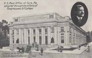 YORK , Pa , 1900-10s ; Post Office
