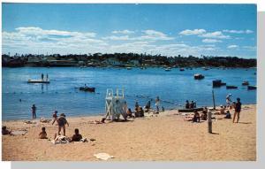 Nice Buzzards Bay, Mass/MA Postcard, Beach Scene, Cape Cod