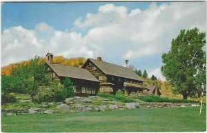 VTG postcard, The Trapp Family Lodge, Stowe, Vermont