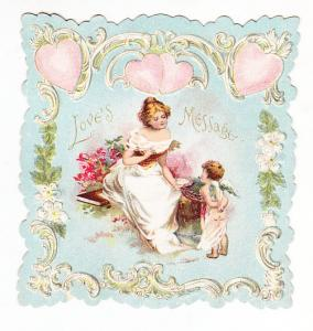 Die Cut Valentine - Love's Message