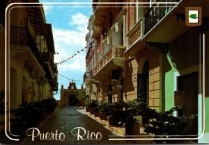 Puerto Rico San Juan Cristo Street