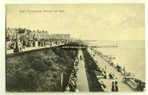 tp2758 - East Promenade , Clacton-on-Sea , Essex - postcard