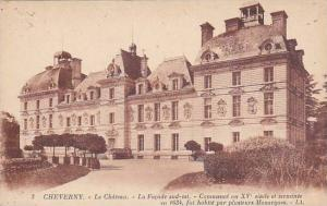 CHEVERNY, Le Chateau, La Facade Sud-Est, Loir et Cher,  France, 00-10s