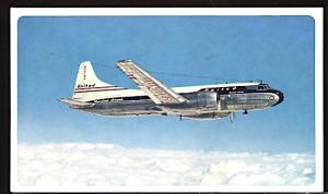 Aviation Airplane United Airlines Convair CV-240