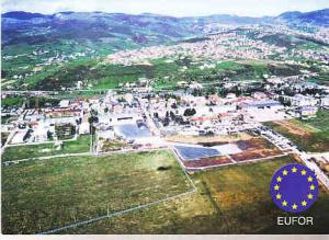 Germany - Eufor Aerial View of Railovac Serbia