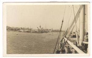 RP; Ocean Liner CHITAL at Port Said , Egypt , 00-10s