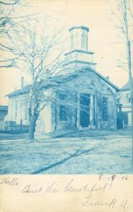 Church, 1906 used Postcard