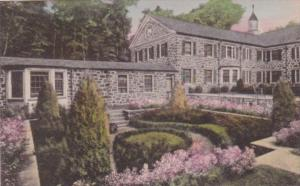 New York Oscawana Cottage and Garden At Valeria Home Handcolored Albertype