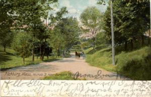 MA - Fitchburg. Nichols Street near Burbank Hospital