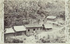 brazil, RIO  GRANDE DO SUL (?), Partial Village View (1908) RPPC