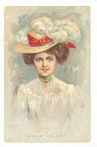 Victorian woman,Feather hat,KIEFER,00-10s