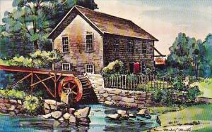 Old Stoney Brook Mill In Brewster Cape Cod Massachusetts