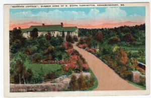 Kennebunkport, Me, Seawood Cottage, Summer Home Of N. Booth Tarkington