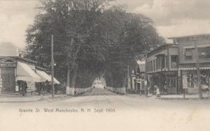 WEST MANCHESTER , New Hampshire, 1901-07 ; Granite Street