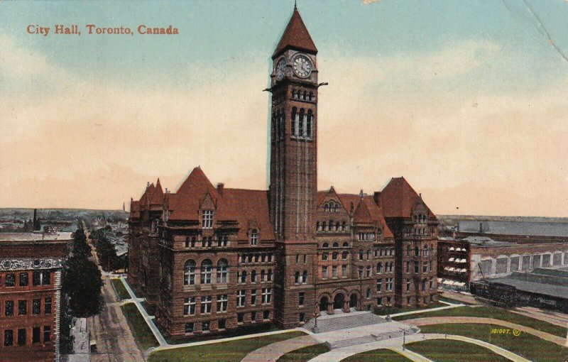 TORONTO, Ontario, Canada, PU-1916; City Hall