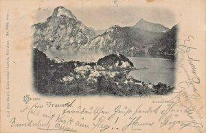 TRAUNSEE AUSTRIA~TRAUNKIRCHEN ~1897 CARL OTTO HAYD PHOTO POSTCARD