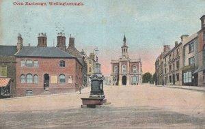 Corn Exchange Wellingborough Northants 1905 Postcard