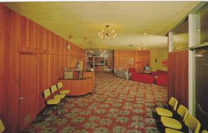 A view of the lobby in the new Dell Hotel,  Whalley,  B.C.,  Canada,  40-60s