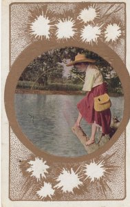 Woman Fishing , 00-10s