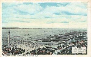 Canada Halifax Ocean Terminals NS postcard