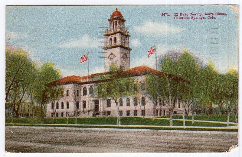 Colorado Springs, Colo., El Paso County Court House