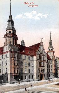 Austria Halle a S, Justizgebaude  Halle a S, Justizgebaude