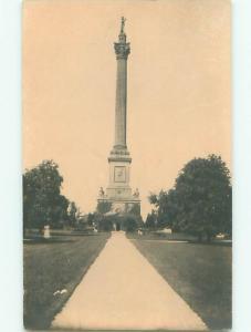 Old rppc MONUMENT TYPE SCENE Nice Postcard AB2243