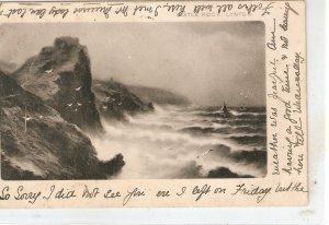 Castle Rock. Lybnon Tuck Rough Sea Series PC # 857