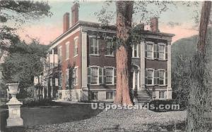 Old Randall House Cortland NY 1909 Missing Stamp