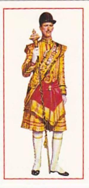 Carreras Vintage Cigarette Card Military Uniforms 1976 No 39 Sergeant Drummer...