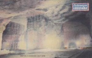 Deep In A Lousiana Salt Mine