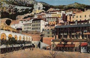 Gibraltar The Casemates Postcard