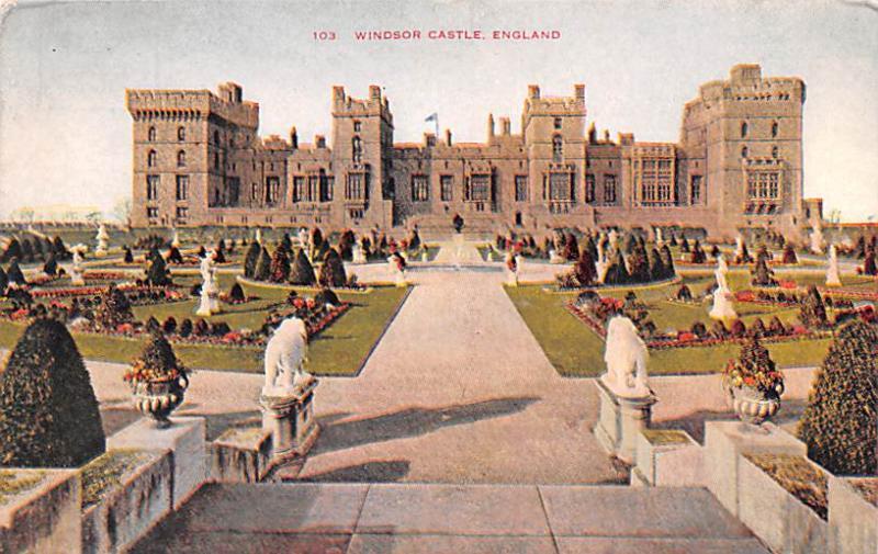 United Kingdom, Great Britain, England Windsor Castle  Windsor Castle