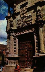 CPM Cusco Fachada del Palacio de Almirante PERU (649052)
