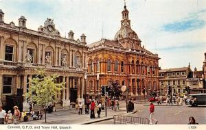 Ipswich Cornhill, G.P.O. and Town Hall