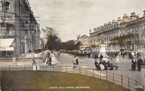 Folkestone Castle Hill Avenue Statue 1924