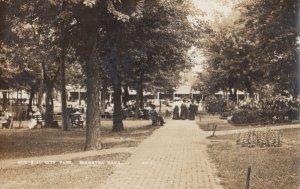 RP: HIAWATHA , Kansas , 1911 ; City Park