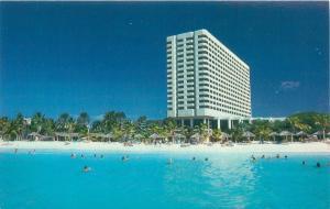 ARUBA NETHERLANDS ANTILLES CONCORDE HOTEL CASINO POSTCARD
