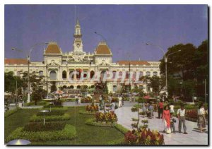 Modern Postcard The Town Hall of Ho Chi Minh City People's Commitee Vietnam
