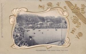 FOLKSTONE , England , 00-10s ; The front from the pier ; TUCK