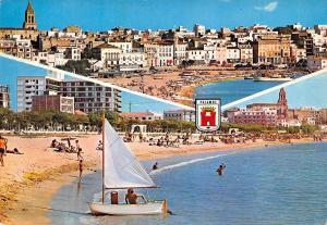 Spain Palamos Playa Beach Strand General view