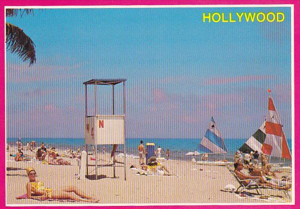 Lifeguard Stand Hollywood Beach Florida